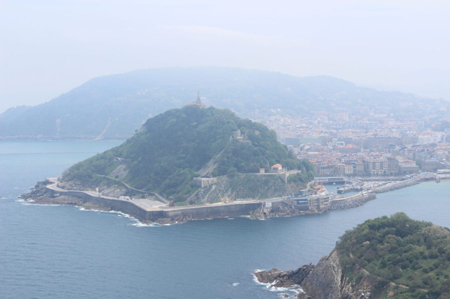 San Sebastian from the Mountain - Basque Seaside