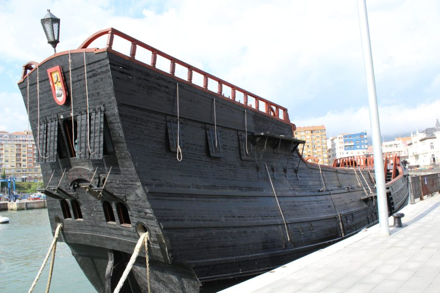 Spanish Galleon Reproduction in Bermeo