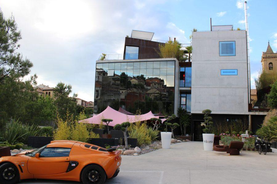 Hotel Viura and the Lotus