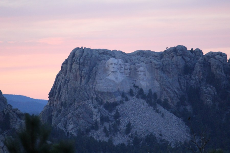 Mount Rushmore from Custer State Park