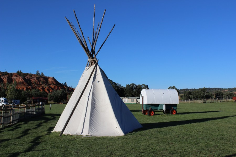 Tepees and Wagons