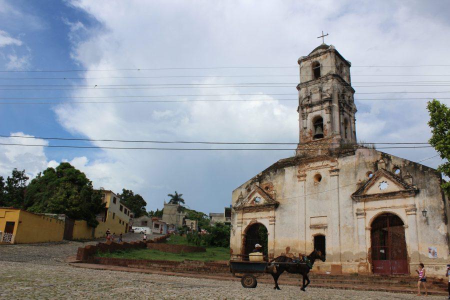 Spanish church in Trinidad