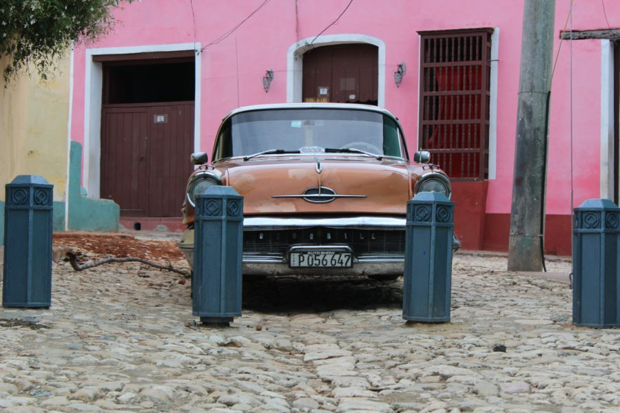 Old Car in Old Trinidad