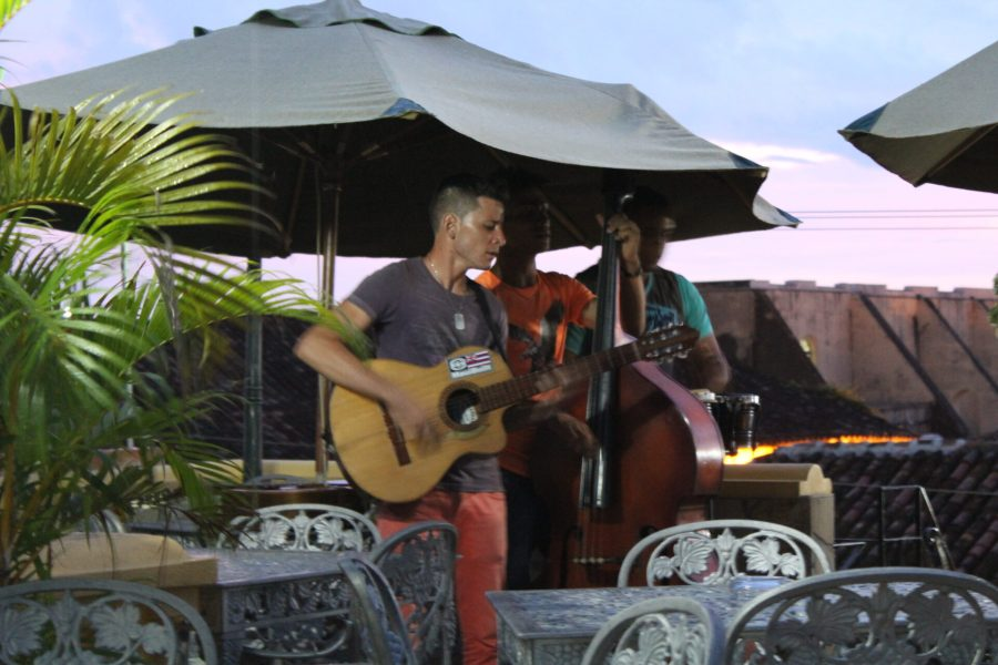Another rooftop bar with live music in Trinidad