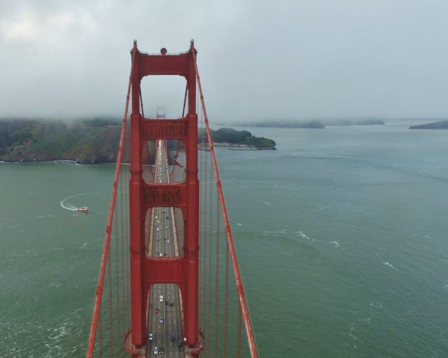 Exploring San Francisco by drone