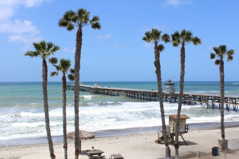 San Clemente Pier - one of the best Orange County Beach towns