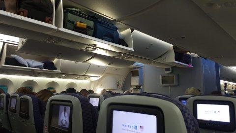 Dreamliner 787 cabin