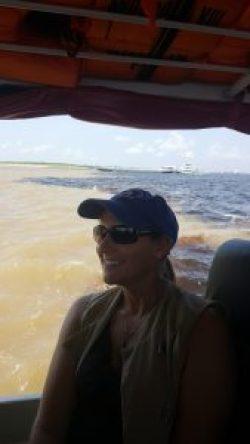 Feeling exhilarated on this Amazonian adventure