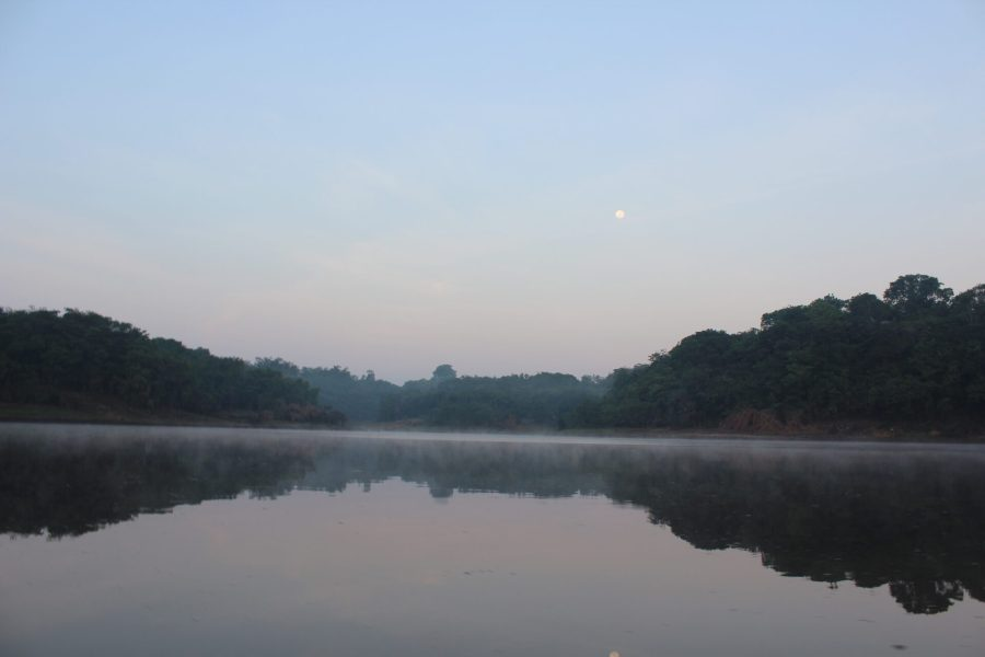 Canoeing off the grid in the Amazon