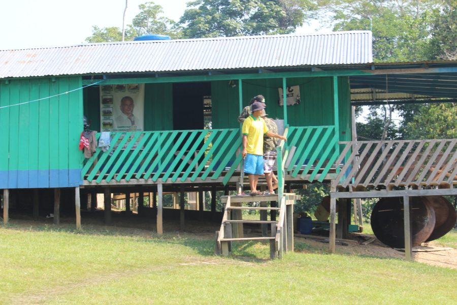 Living off the grid in the Amazon