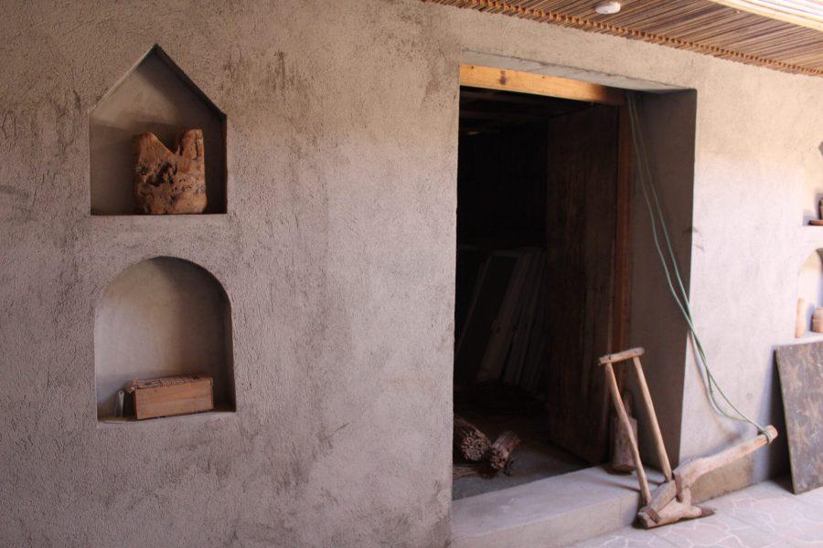 Bahla guesthouse - workshop area