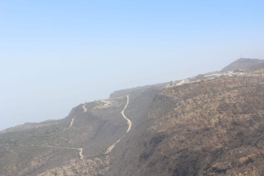 Yemen border crossing area