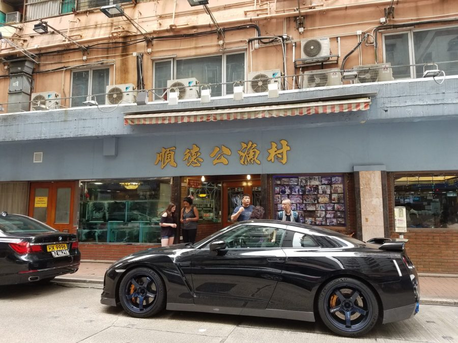 Hong Kong dimsum restaurant