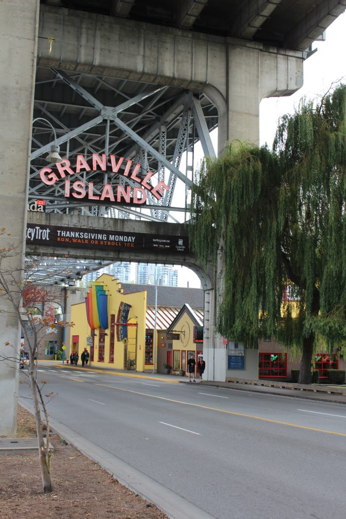 Granville Island on the Vancouver City Tour