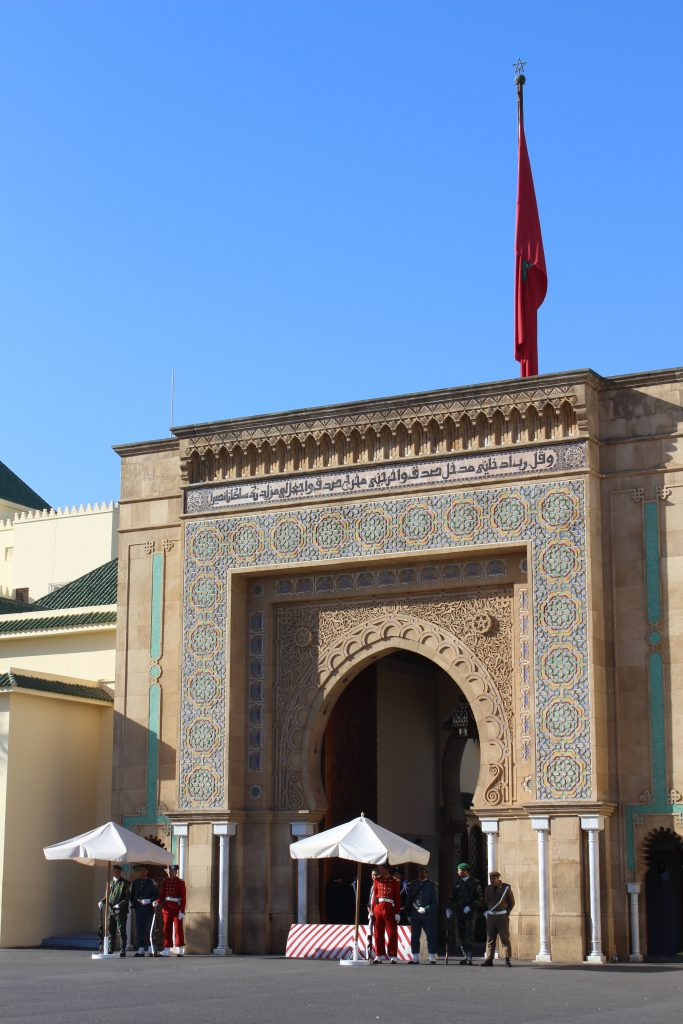 Royal guards in Rabat