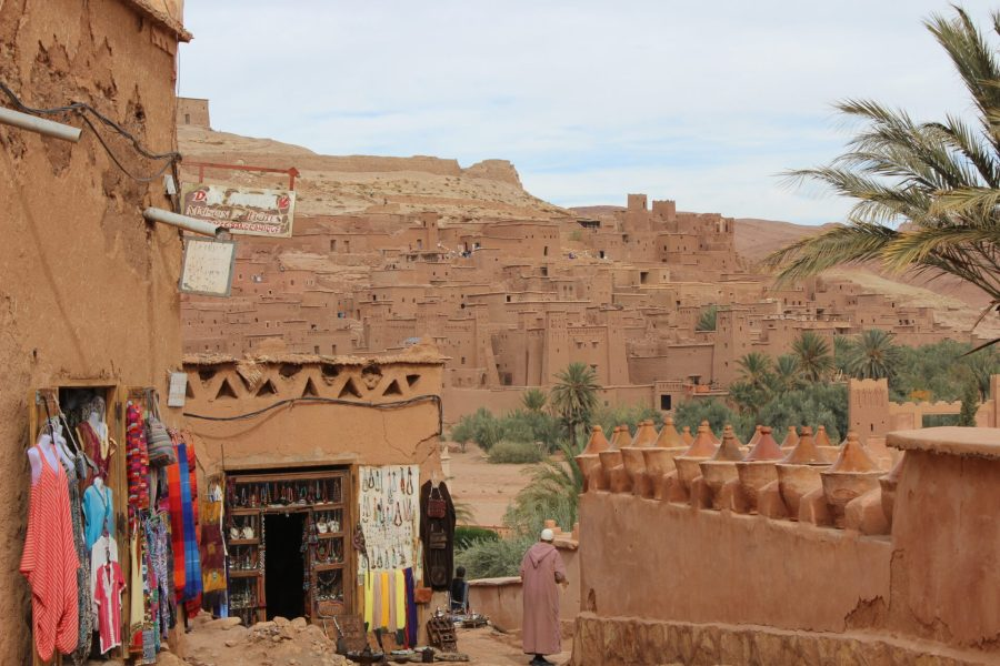 Parting shot of Ait Ben Haddou