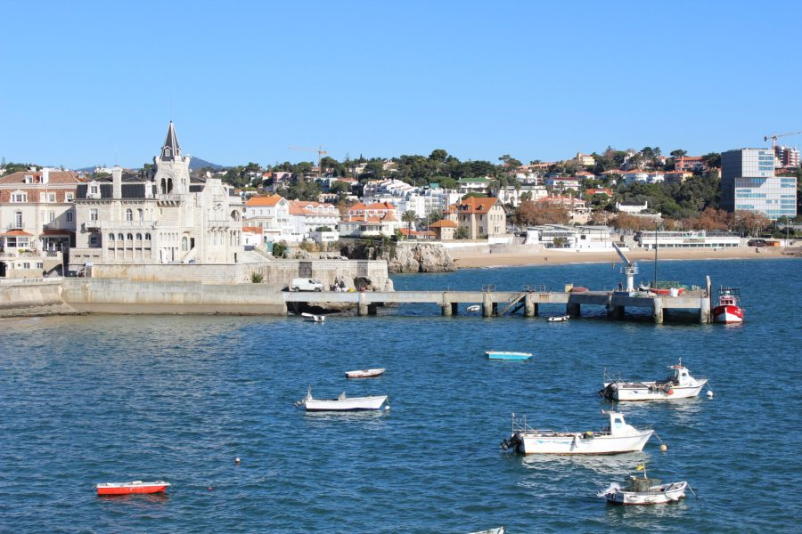 Cascais harbor