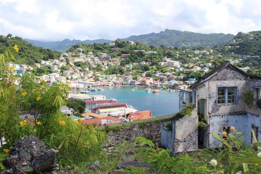 The Carenage in Grenada