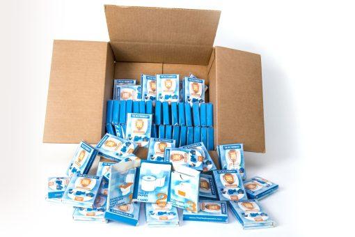 The Restroom Kit - essential sanitary item - bathroom essentials - toiletries travel pack