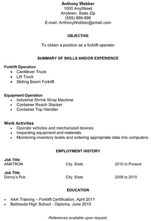 Free Resume Templates For Recent College Graduates And Career Changers
