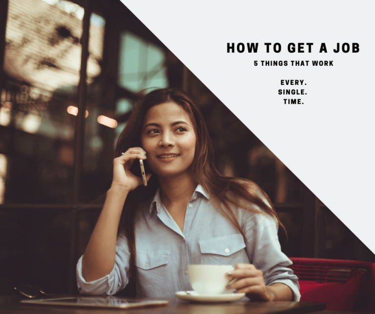 How To Get a Job – 5 things you can do to stand out
