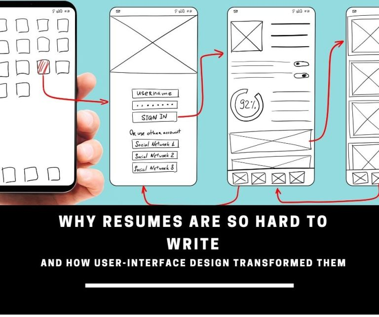 why resume are so hard to write