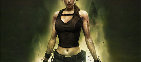 Another example of the stupid marketing by Eidos. We want Tombs, not tits.