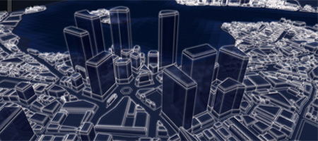 This is one of Subversion's procedurally generated cities. It's likely you'll never see this one in game.