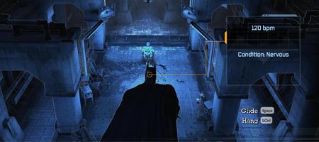 Batman sees the goon is nervous. He approves. Soon Biff! Soon Pow!