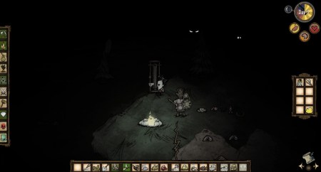 The creepy Don't Starve busy scaring me.