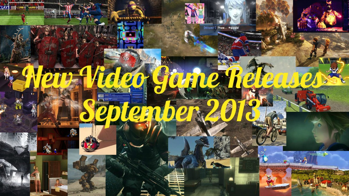 September 2013: New Video Game Releases - September 2013 Schedule