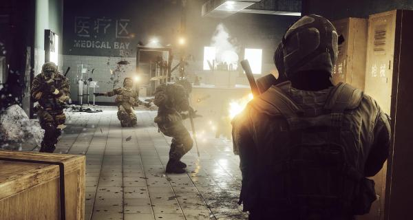 I would be quite happy if EA/DICE focussed solely on multiplayer for the next Battlefield release.