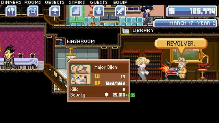 Mansion Lord gameplay screenshot