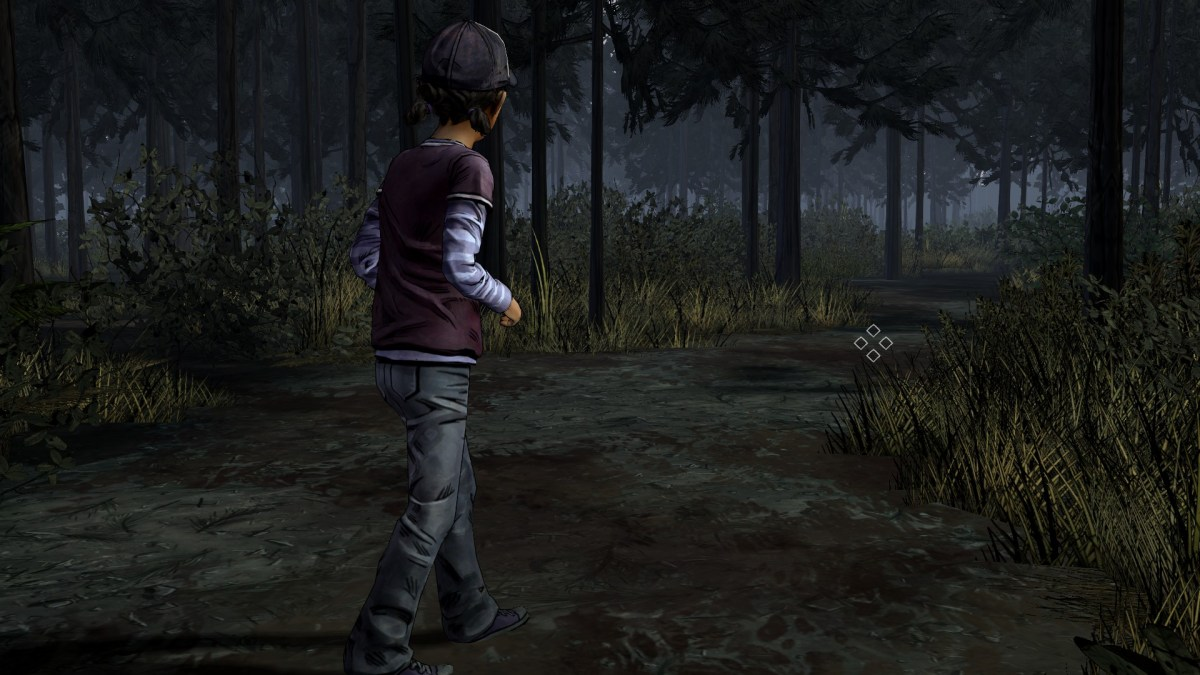 Walking Dead S201 Clementine Path