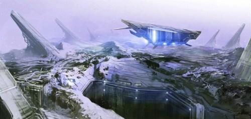 Space Pioneer Concept Artwork