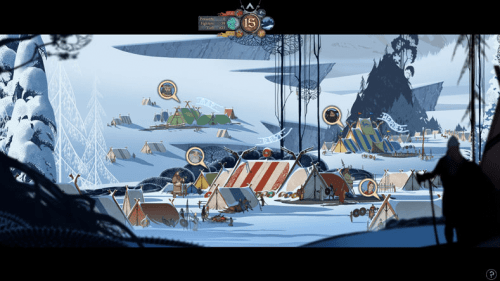 This is the Banner Saga. It is not made by King. You can tell, because it's actually, you know, good.