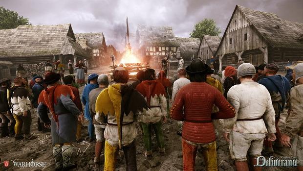Kingdom Come: Deliverance screenshot crowd