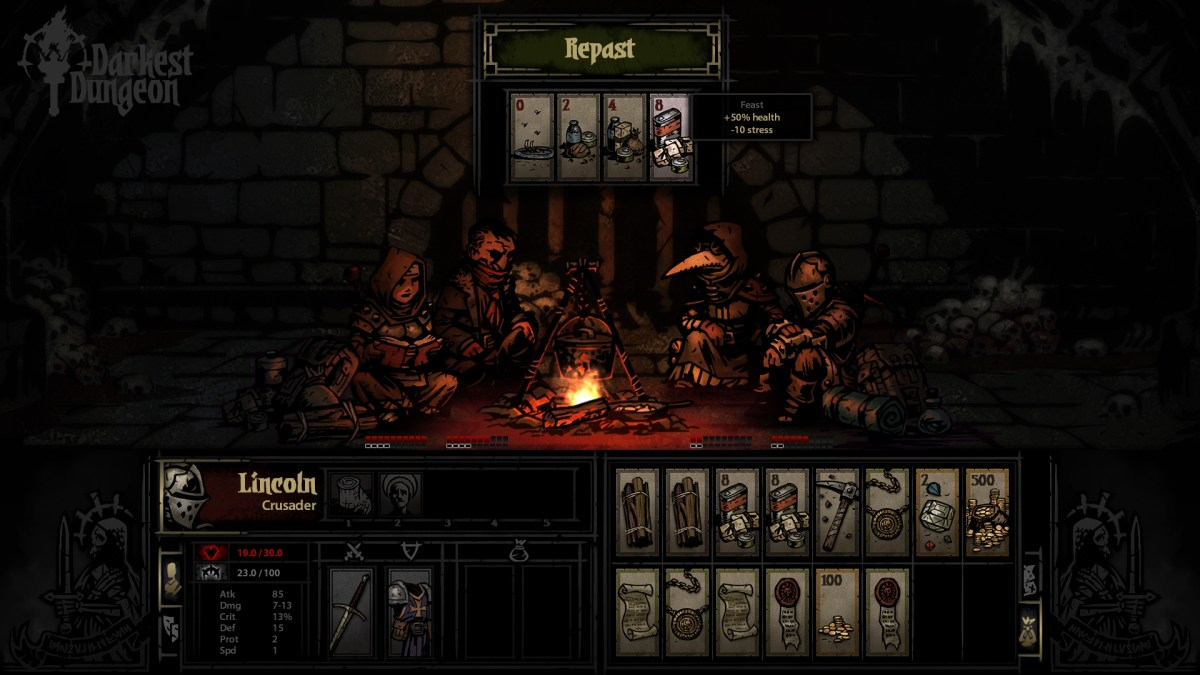 Darkest Dungeon Feast screenshot