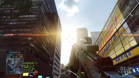 There is a sniper on top of that skyscraper there. He's a twat.