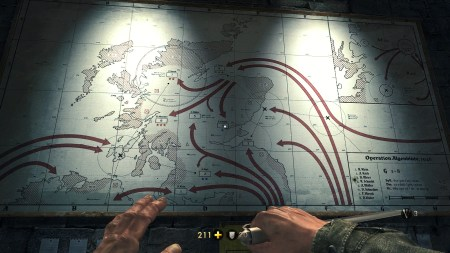 The Nazi invasion map. Chilling to think what could have been.