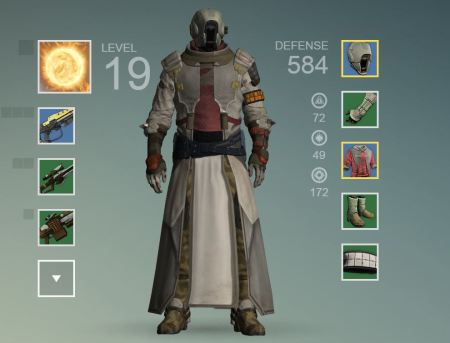At level 19, this is my Guardian.