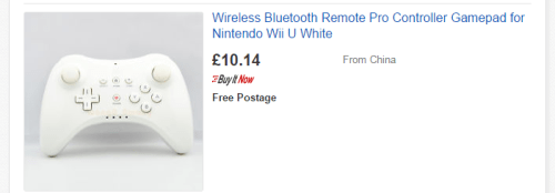 Fake Wii U Pro Controller