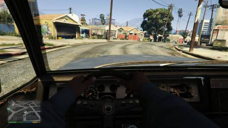 Just check out the dashboard after shooting this car up.