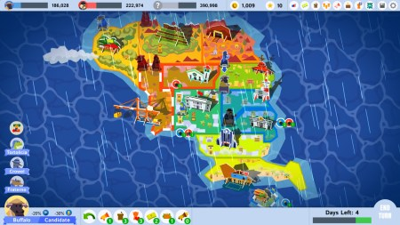 Political Animals map