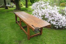 19th . Antique Woodworking Bench