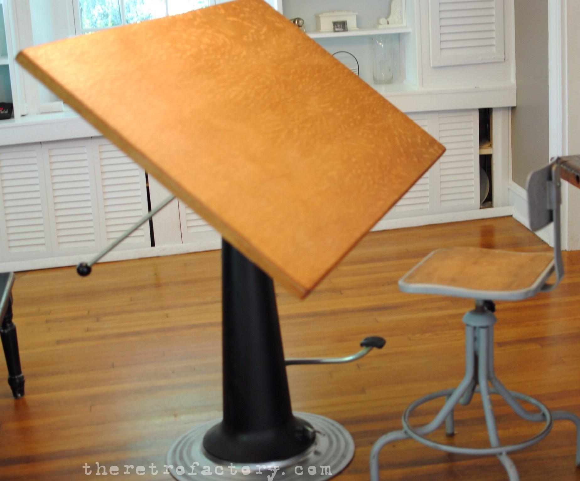 Vintage Industrial Nike adjustable drafting tabledeskpub