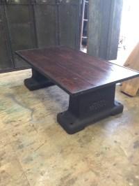 3 Repurposed coffee tables