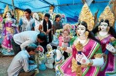 idols of Saraswati
