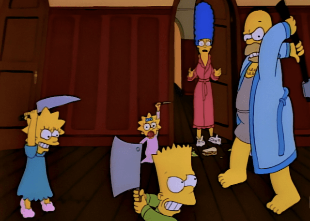The Top 10 Simpsons Treehouse of Horror Tales - The Retro Network