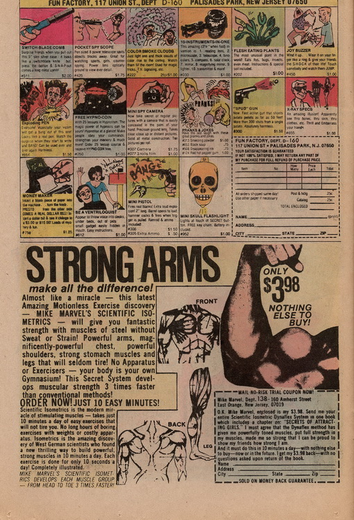 The Flash 256 Strong Arms